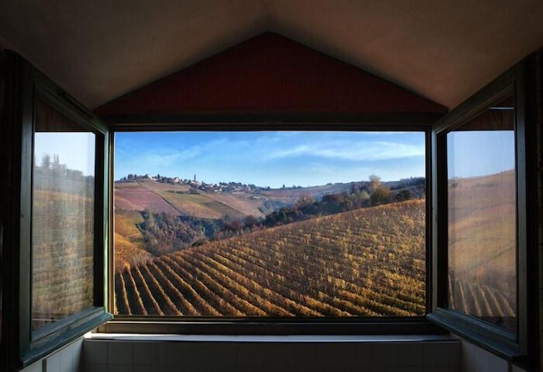 Cascina Baràc, Alba, Deluxe suite, 1 slaapkamer, kitchenette, uitzicht op wijngaard, Uitzicht vanaf kamer