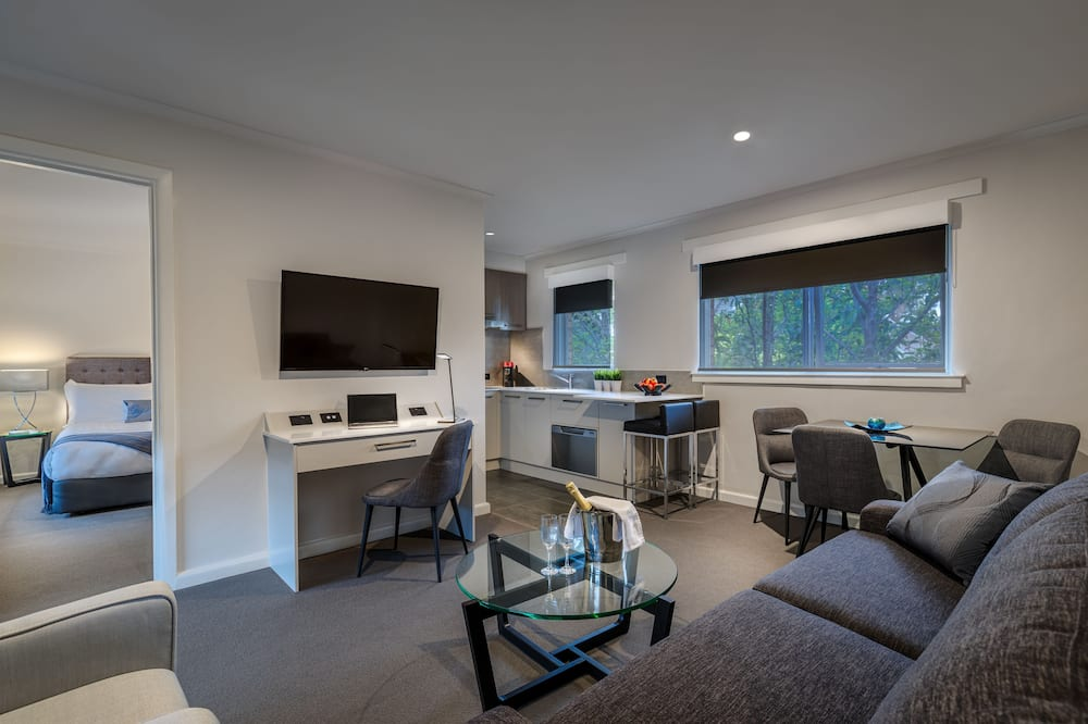 Executive One Bedroom Apartment - Living Area