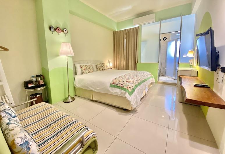 Tang Villa, Тайдун, Двухместный элитный номер с 1 двуспальной кроватью, 1 двуспальная кровать «Кинг-сайз», Номер