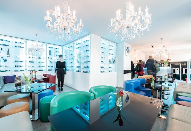 iQ130 Hotel, Zurich, Ruang Istirahat di Lobi