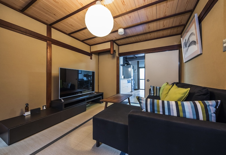 四季之家 - 瑠璃飯店, Kyoto, Shiki Homes | HARU 春, 客廳