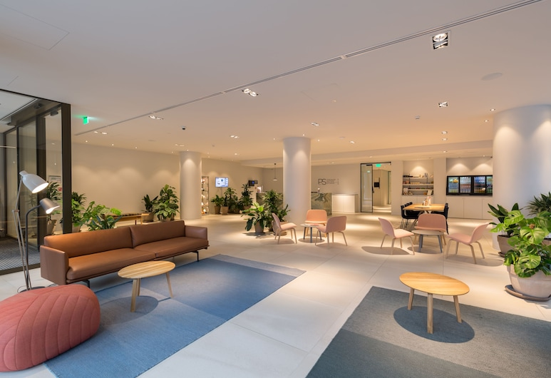 PREMIER SUITES PLUS Rotterdam, Róterdam, Sala de estar en el lobby