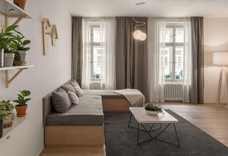 Four Trees, Prague, One Bedroom Apartment Owl , Living Room