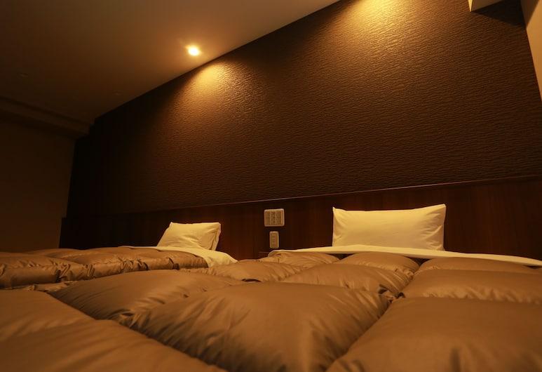 東堺基本公寓酒店, 堺, 豪華四人房 (The room in annex might be assigned), 客房