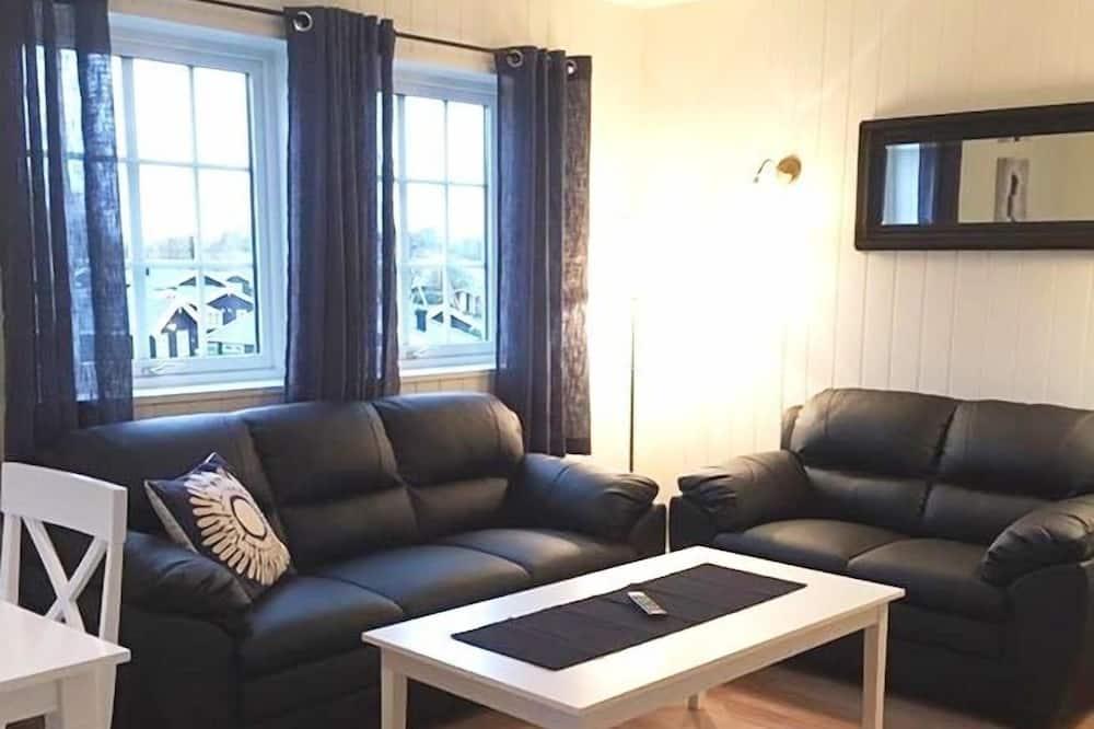 Íbúð - 3 svefnherbergi - Stofa
