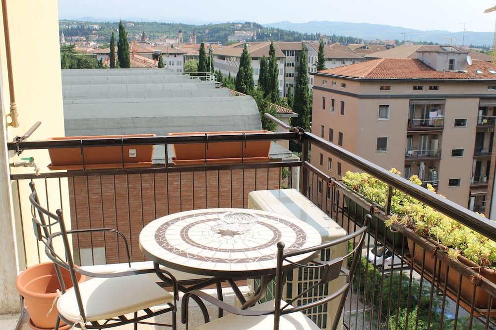 อพาร์ทเมนท์, 1 ห้องนอน, ระเบียง (Bellavista Via del Pontiere 29) - ระเบียง