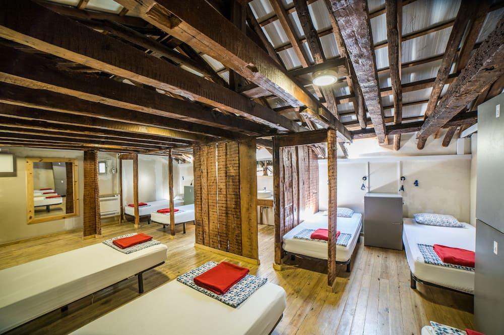 Shared Dormitory, Shared Bathroom (10 people) - Pokój
