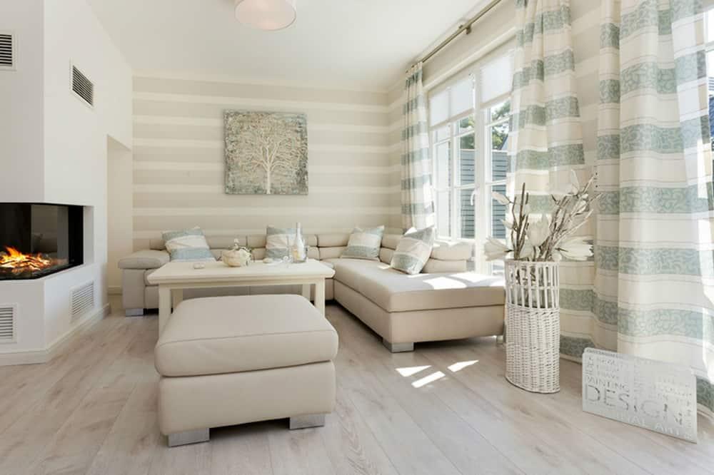 Kuća, 3 spavaće sobe, sauna (Zingster Perle I - Bahnhofstr. 24) - Dnevni boravak