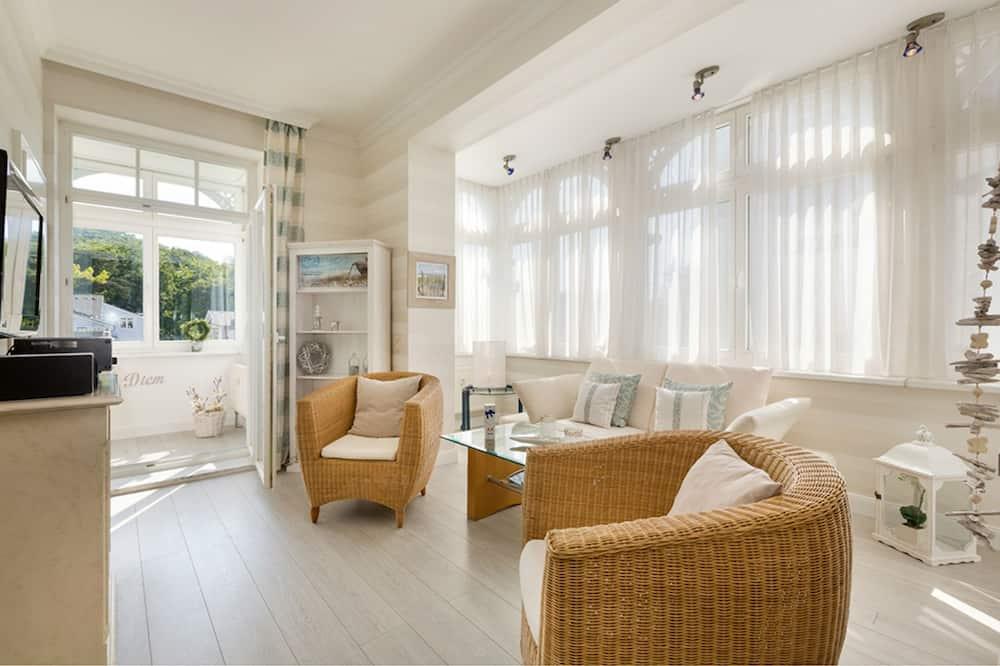 شقة - غرفتا نوم - ساونا (Sommerwind) - منطقة المعيشة