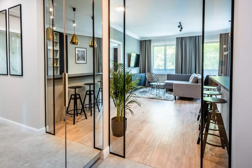 ห้องเอ็กซ์คลูซีฟสวีท, 2 ห้องนอน - ห้องนั่งเล่น
