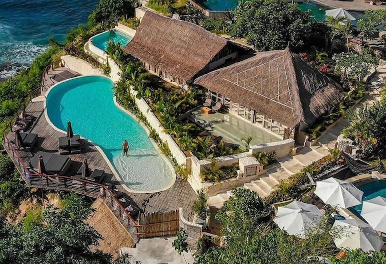 La Joya Biu Biu  Resort, Jimbaran, Aerial View