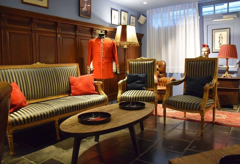2GO4 Quality Hostel Grand Place, Bruxelles, Salon du hall