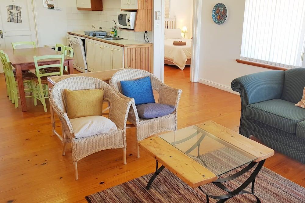 Коттедж «Комфорт», 3 спальни - Зона гостиной