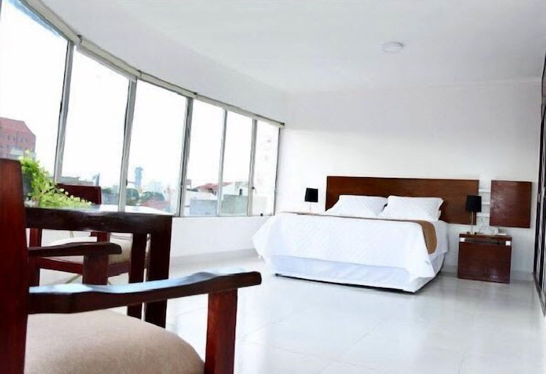 Hotel Plaza 24, Santa Cruz, Double Room, City View, Guest Room