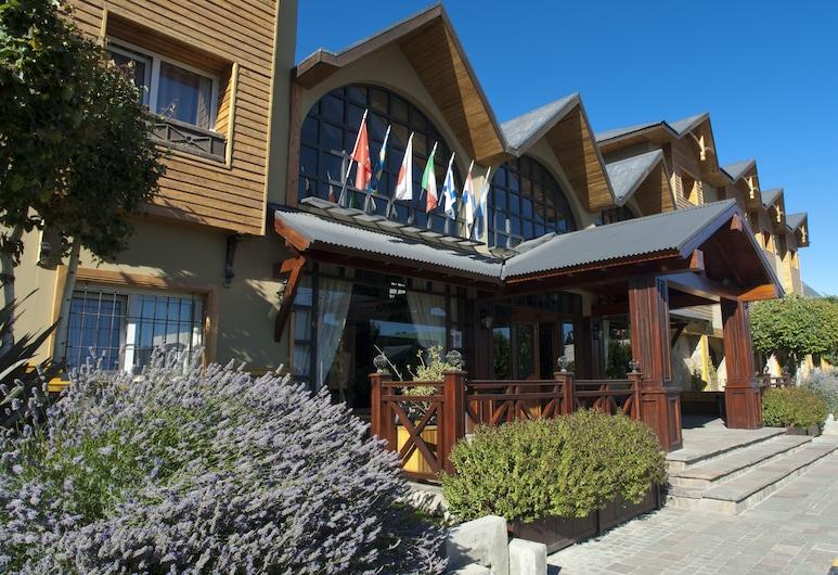 Quijote Hotel, El Calafate, Fachada do Hotel