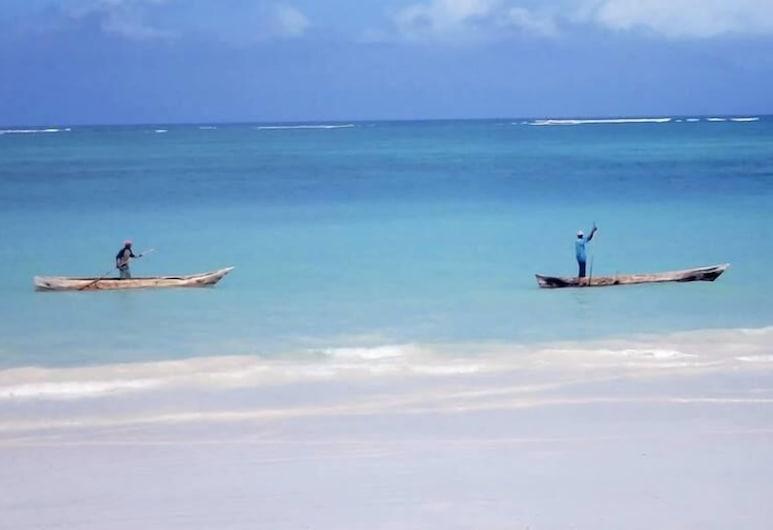 صن سيت فيلا دياني, شاطئ دياني, الشاطئ