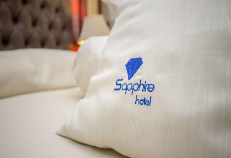 Sapphire Hotel, Kampala, Deluxe-herbergi með tvíbreiðu rúmi, Herbergi