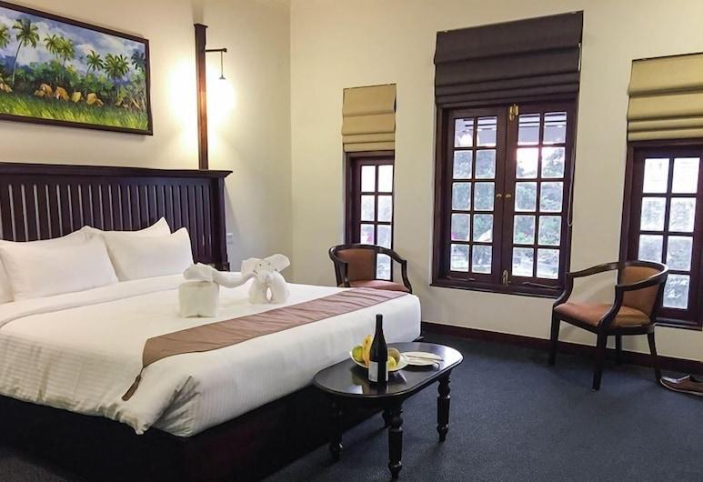 Hotel Nippon Colombo, Colombo, Deluxe Tek Büyük veya İki Ayrı Yataklı Oda, Balkon, Oda
