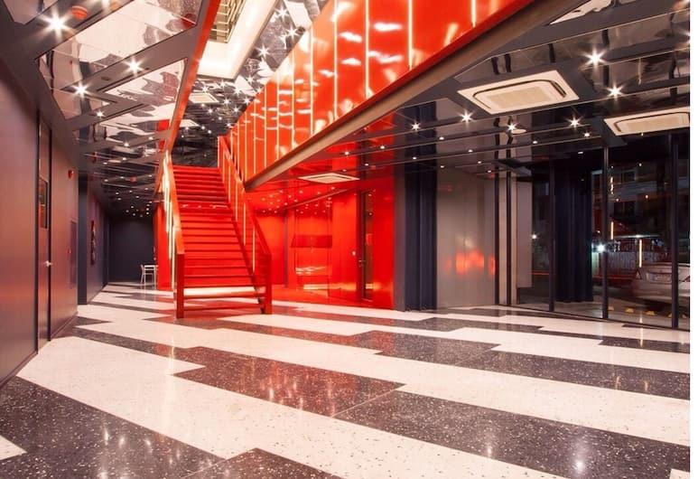 クラブ ホテル, バンコク, 階段