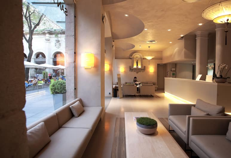 Hotel Sant Agustí, Barcelone, Salon de la réception