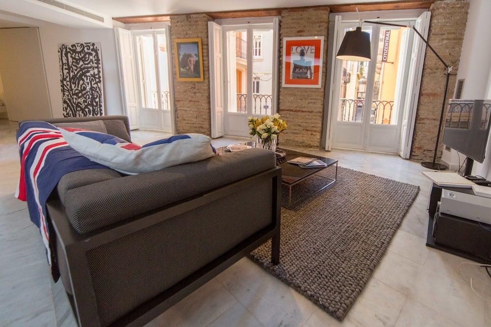Loft, 1 Schlafzimmer - Wohnbereich