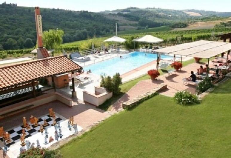 Borgo Filicardo, Montespertoli, Exterior