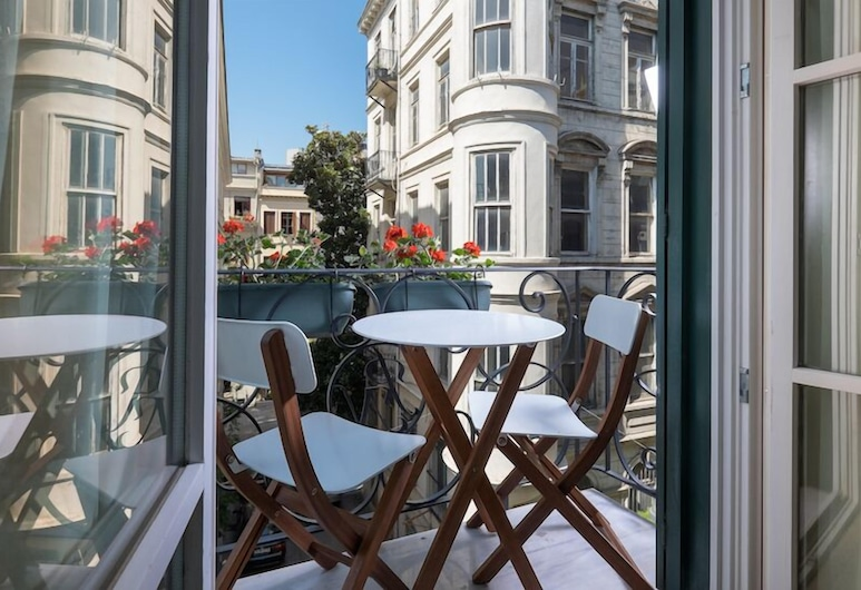 Pera Neuf, Istanbul, Deluxe-Doppelzimmer, Balkon, Balkon