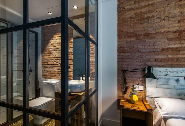Boutique 1847, Barcelona, Comfort Double Room, Balcony, City View, Bilik Tamu