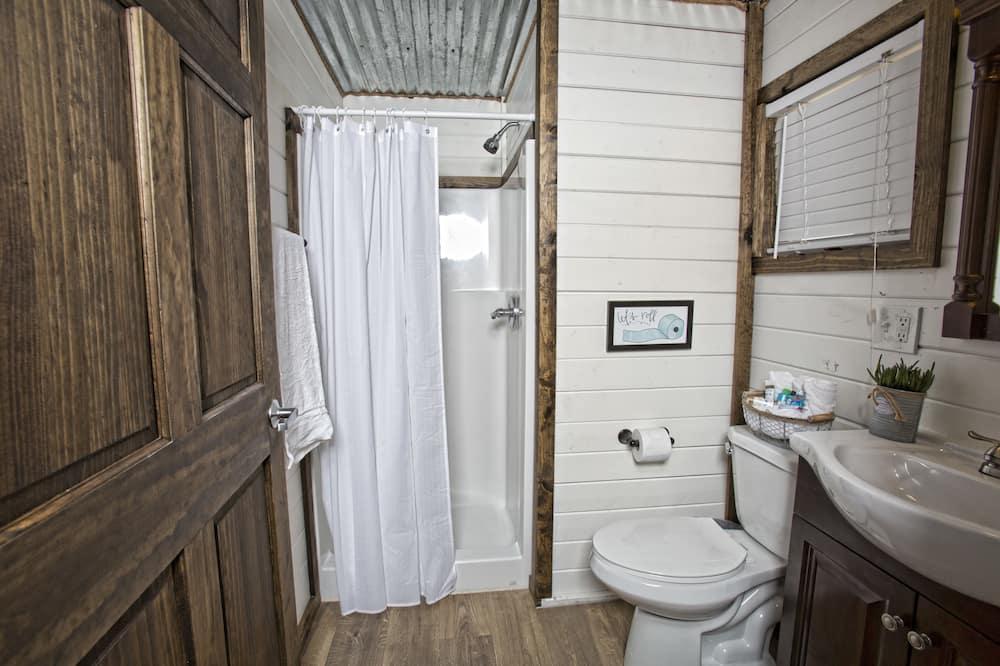 豪華套房, 2 張加大雙人床 - 浴室