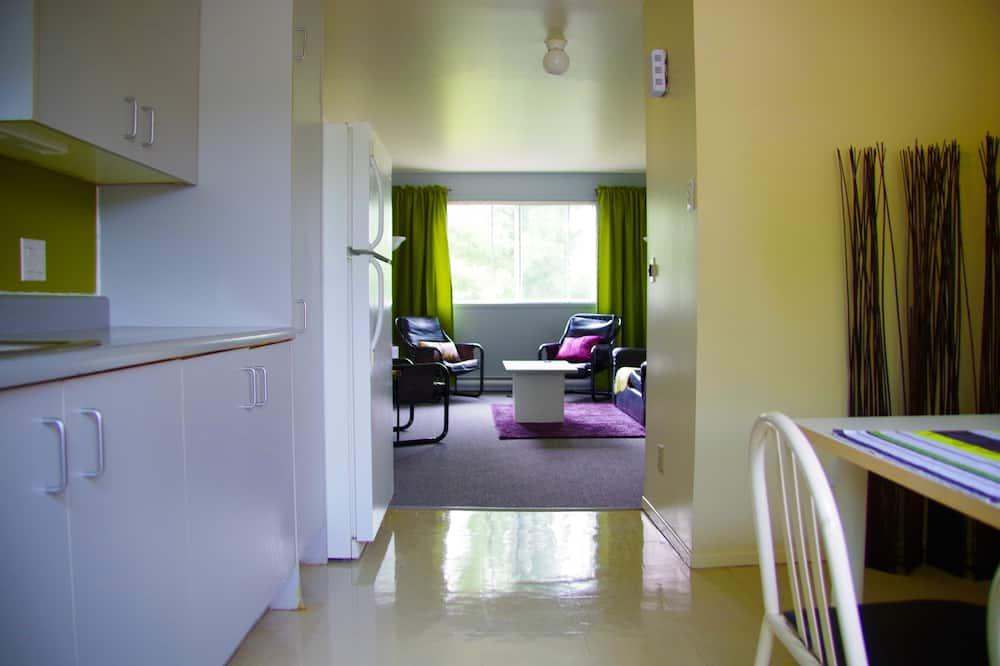 Lägenhet - kök - Vardagsrum