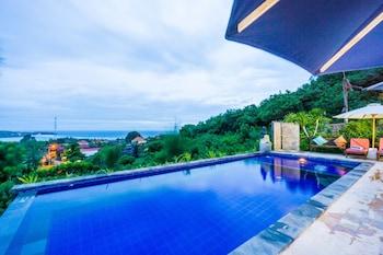 Foto Taman Seaview di Pulau Nusa Lembongan