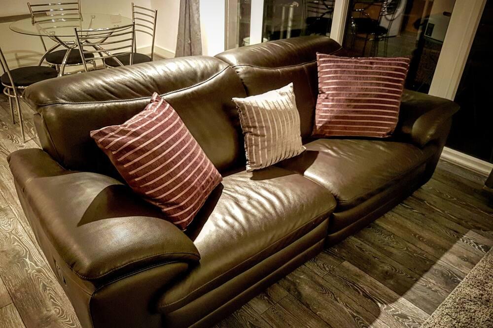 Apartament luksusowy, 2 sypialnie - Salon