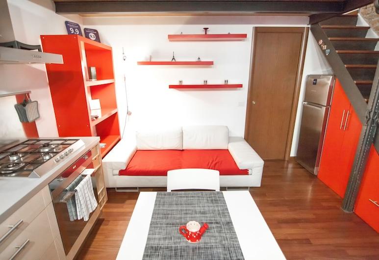 Miniloft-Angy-Navigli, Milan, Apartment, Living Area