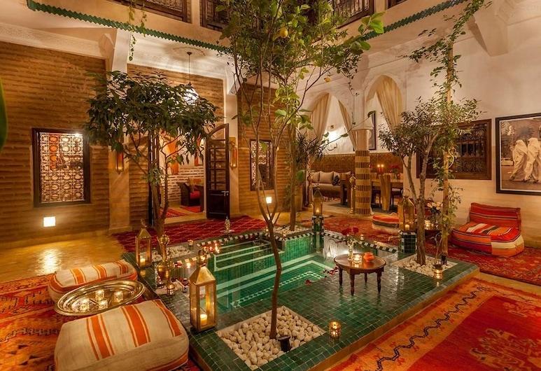 里亞德達爾耶瑪酒店, 馬拉喀什, 客廳