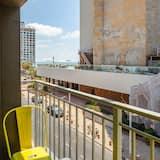 Výhled z balkonu