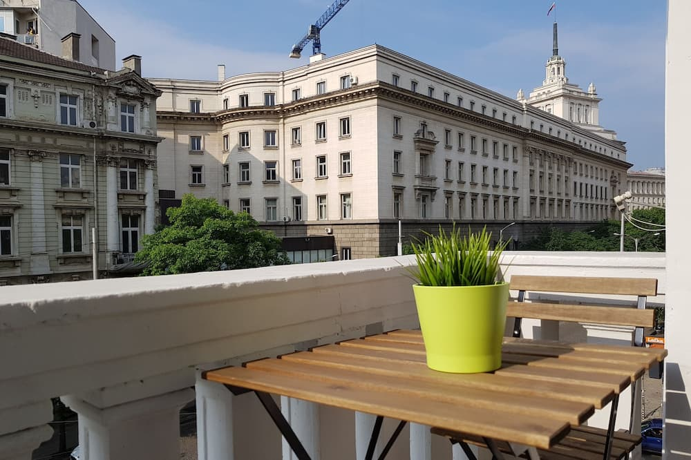Apartment (Brilliance Self-Service Apartment)  - Balkon