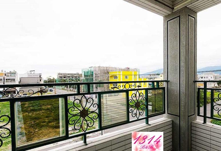 1314 B&B, Taitung, Dört Kişilik Oda (2A), Balkon