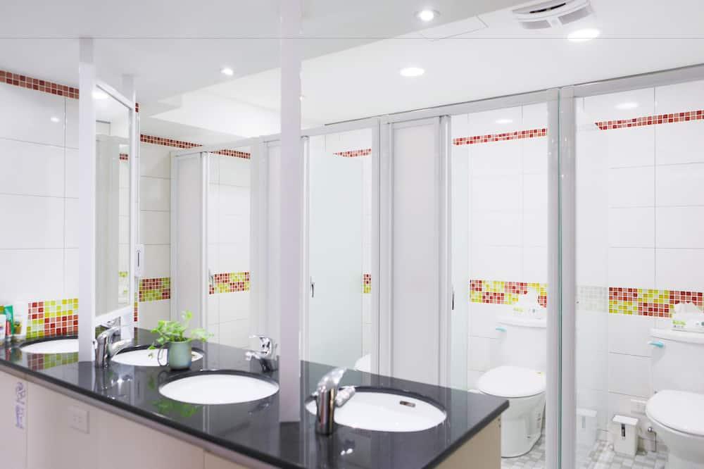 Koplietojuma guļamzāle, abu dzimumu guļamzāle - Vannasistaba