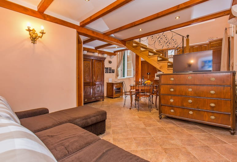 Irundo Dubrovnik - Arch Apartments, Dubrovnik, Superior Apartment, 1 Bedroom (DG1), Gjesterom