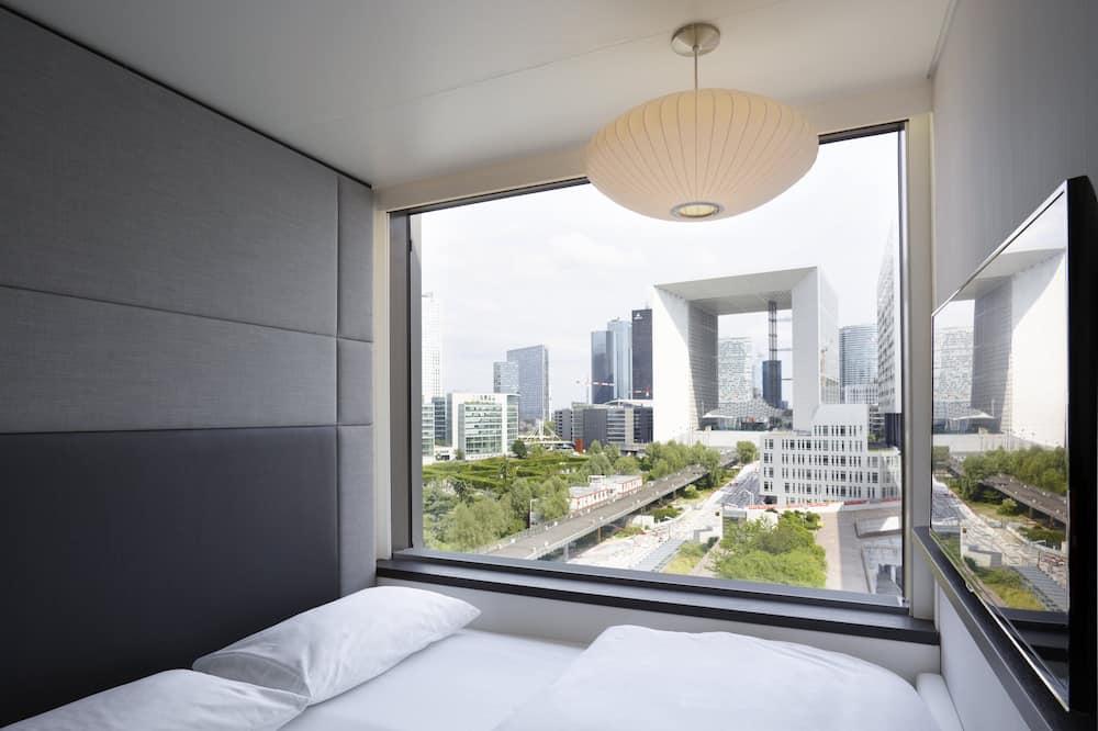 Comfort kamer, 1 kingsize bed - Uitzicht vanaf kamer