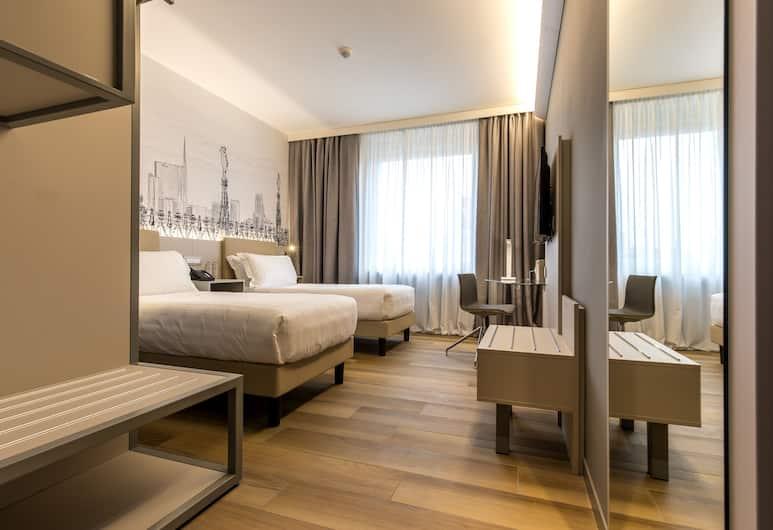 43 스테이션 호텔, 밀라노, 슈피리어 더블룸, 객실