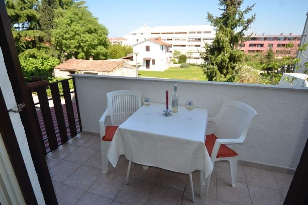 Romantic Double Room, Balcony, Garden View - Balcony