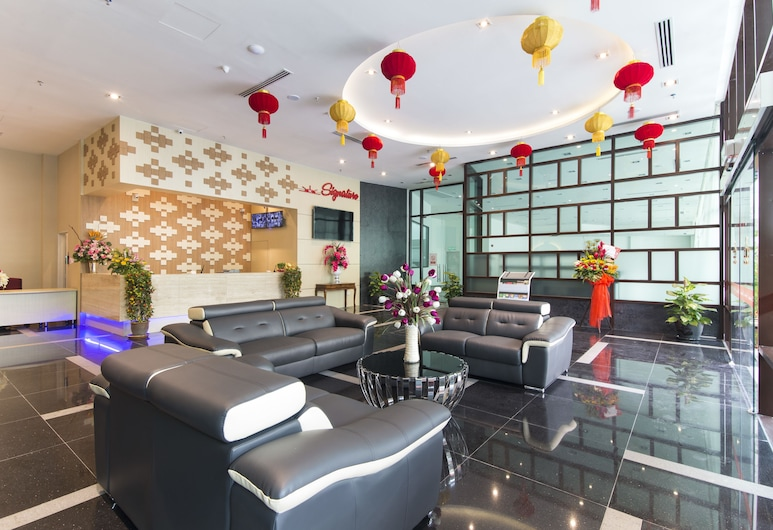 Hotel Signature International at Pudu, Kuala Lumpur, Puhkeala fuajees
