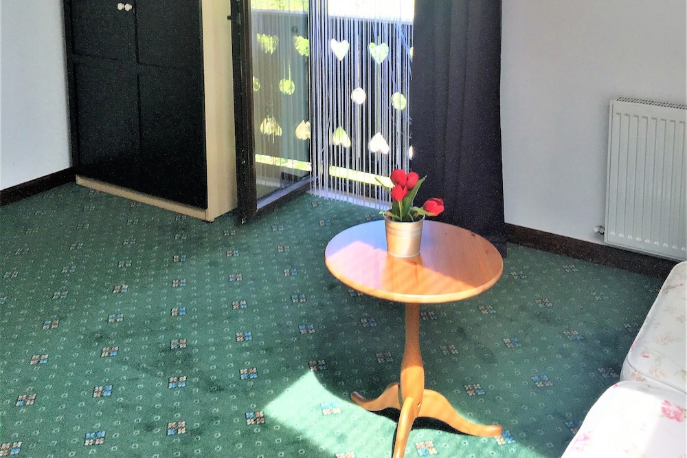 Romantic Studio, 1 Bedroom, Fireplace, Hill View - Living Area
