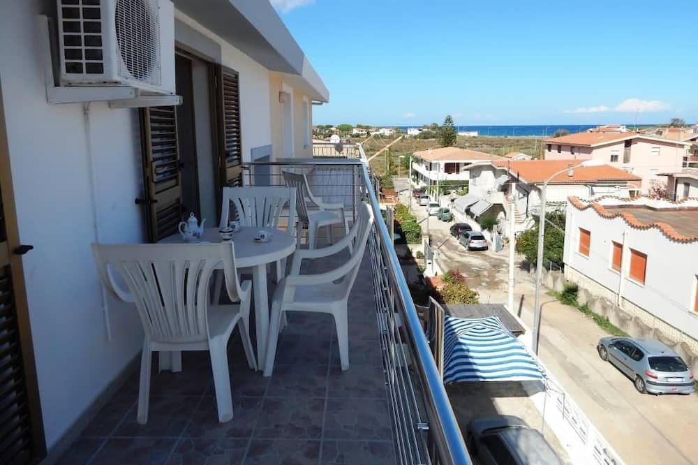 Appartement, 2 slaapkamers (Gomez 2) - Balkon
