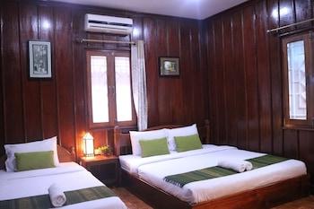Selline näeb välja Apple 2 Guesthouse, Luang Prabang