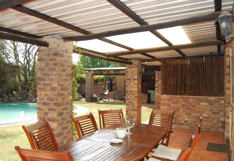 Flamingo Rest, Sandton, Rekreačná chata typu Comfort, 1 spálňa, výhľad na záhradu, Terasa