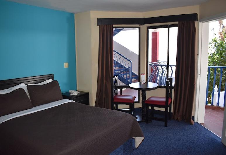 Hotel Mediterraneo, Playas de Rosarito, Deluxe-rum - 1 dubbelsäng, Gästrum