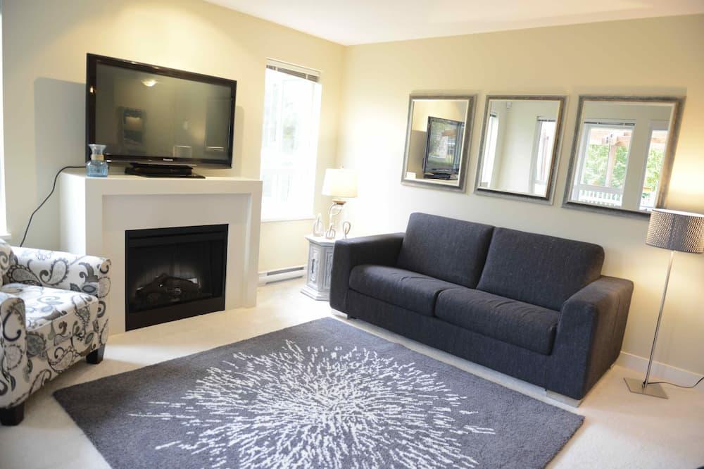 家庭公寓客房, 3 間臥室, 露台, 地面 - 客廳