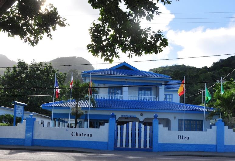 ル シャトー ブルー, マヘ島, ホテルのフロント